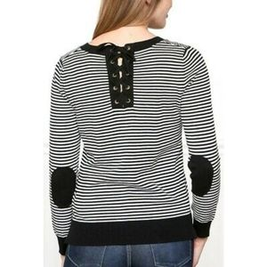 Downeast Striped Sweater